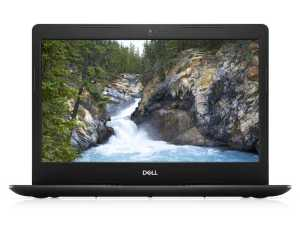 Dell Laptop i3 10th Generation   Dell Vostro 3491 14 inches Full HD Laptop i3-1005G1/4GB/1TB Hard Disk Drive & 256GB SSD, Win 10, MS Office/Intel High Definition Graphics, Black