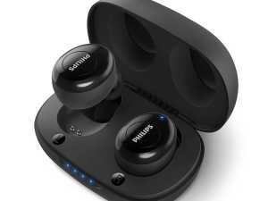 Bluetooth Philips Earbuds Audio UpBeat TAUT102BK True Wireless TWS Black with 12 Hrs Playtime
