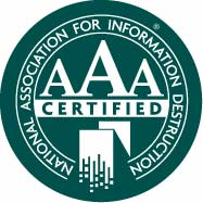 NAID AAA Certified operations