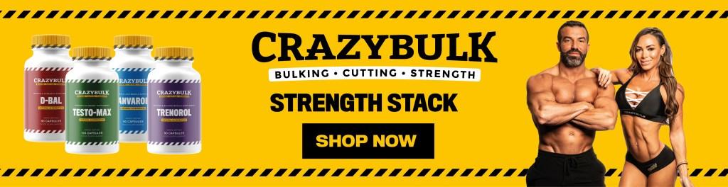 CrazyBulk Strength Stack