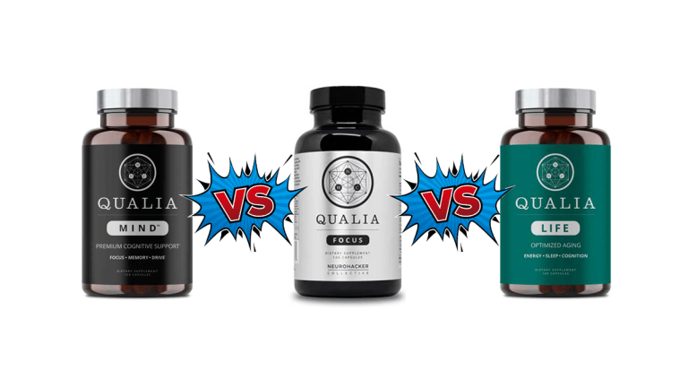Qualia Mind vs Qualia Focus vs Qualia Life Comparison by ShredFitnessNY