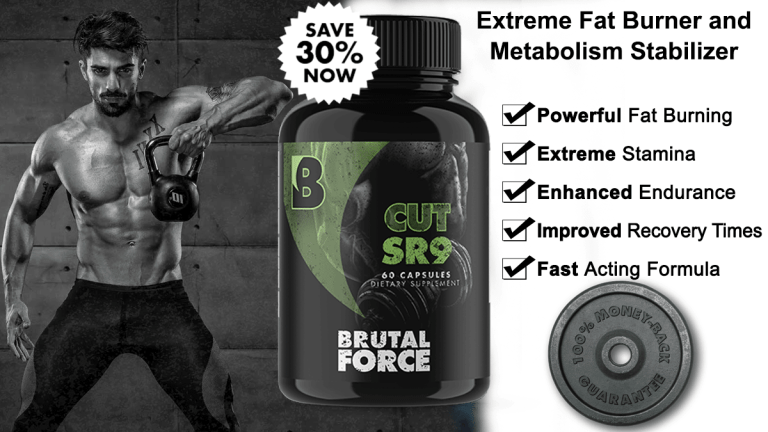 Brutal Force CUTSR9 SR9009 Stenabolic Shred Fitness NY Review