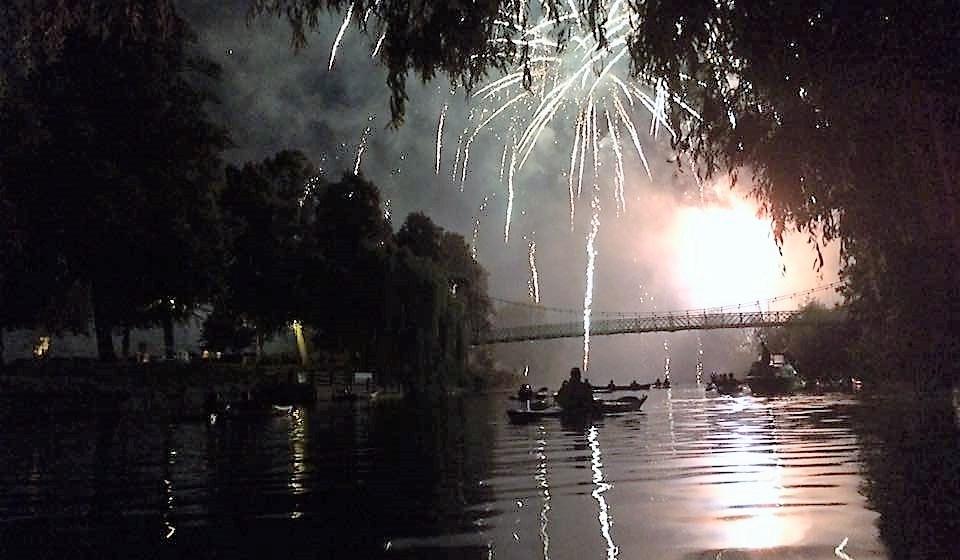 Shrewsbury Flowershow Fireworks show