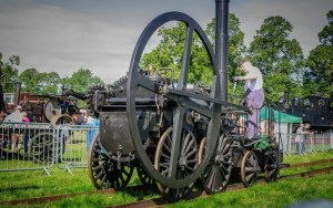 Trevithick Loco kindly presented by the Ironbridge Gorge Trust