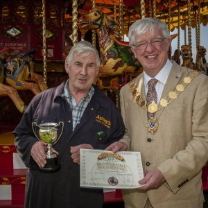 Best Portable Steam Engine - Jack Schofield, Exhibit: Ashleys Golden Gallopers