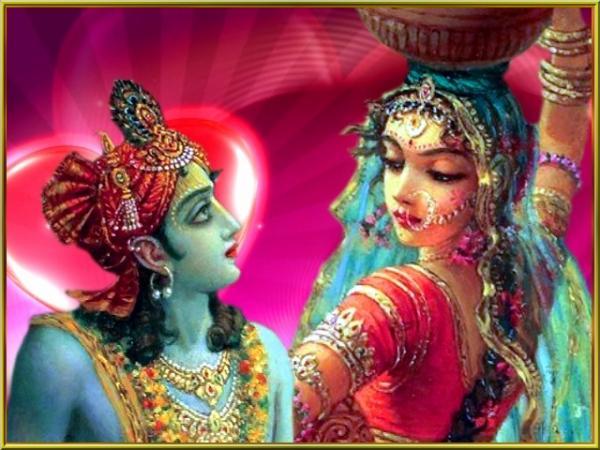 राधा-कृष्ण की कविता-वार्ता