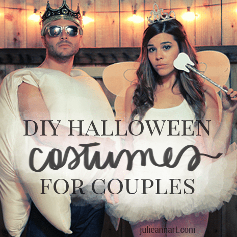 10 DIY Couples Halloween Costumes