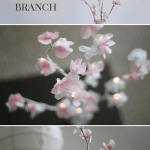 How To Make A Diy Glowing Cherry Blossom Branch Centerpiece