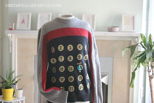 Advent Calendar Christmas Sweater