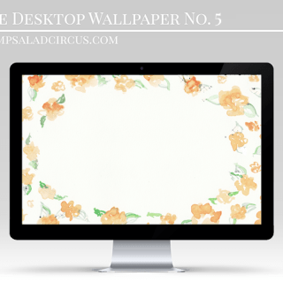 Floral Desktop Wallpaper . Freebies