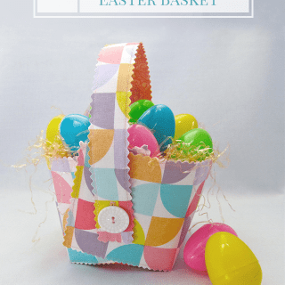 How to Sew Personalized Easter Baskets
