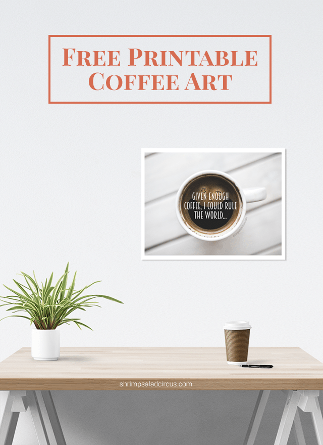 Free Printable Coffee Art