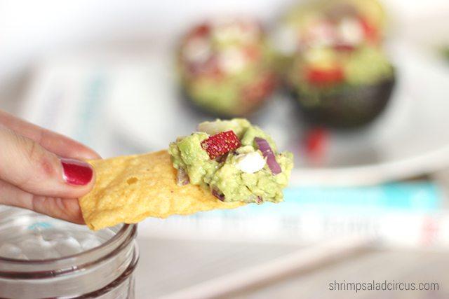 Strawberry Guacamole Recipe 1 1