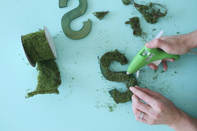 DIY Monogram Topiary - Step 3