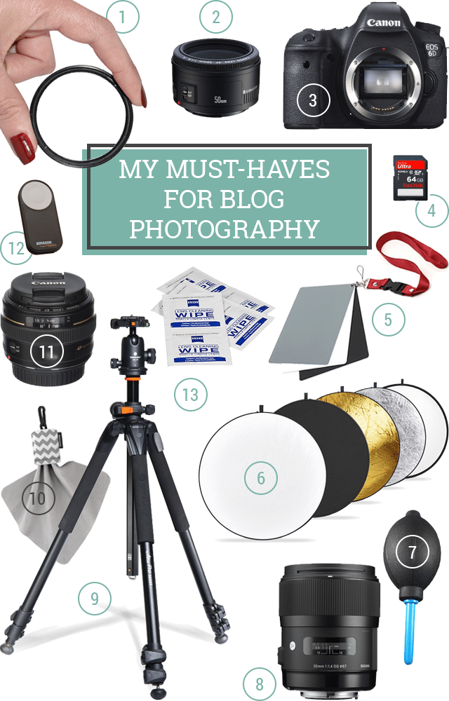 12 Essential Photography Supplies