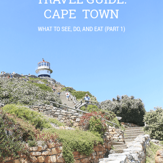 Cape Town Travel Guide Part 1