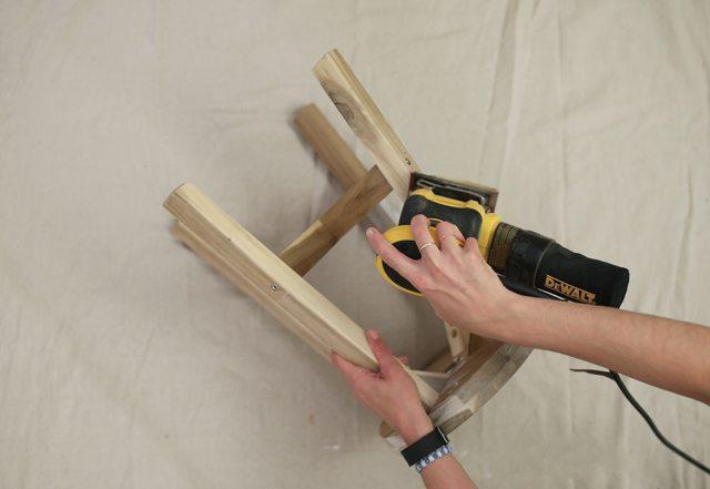 diy-metal-wrapped-furniture-step-1
