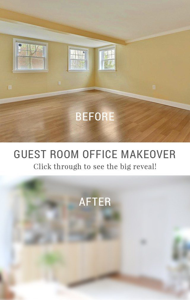 The Big Reveal - My Creative Escape Guest Room Office Makeover