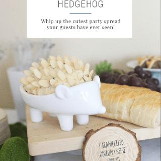 Cheese Ball Hedgehog Recipe