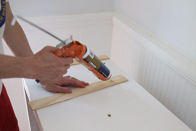 IKEA Hacks - DIY Bar Cabinet - Step 7