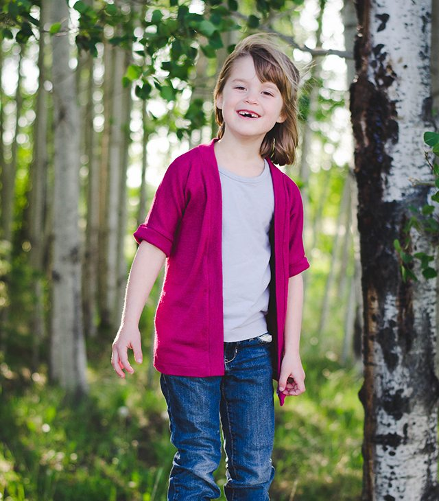Free Fall Sewing Projects and Patterns - Fleece Cardigan Jacket