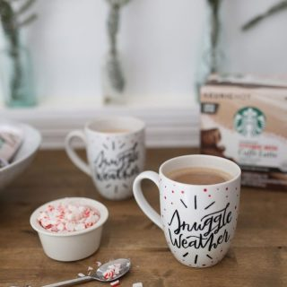 How to Paint Your Own Holiday Mug for the Starbucks® Share the Cheer Sweepstakes
