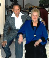 Francisco Leon with wife