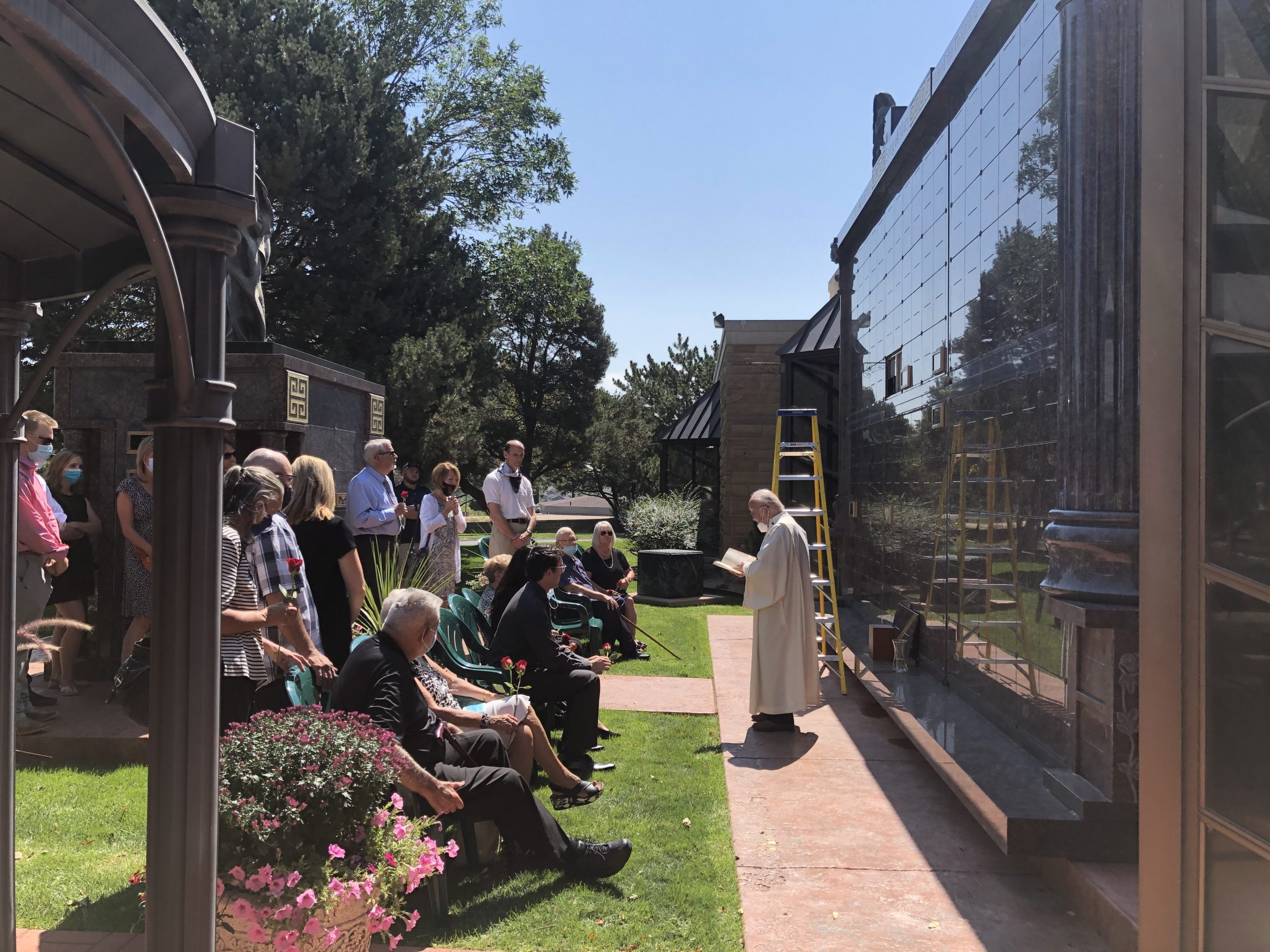 Song of Mary Columbarium in Colorado Springs for Placement of Cremated Remains after Cremation