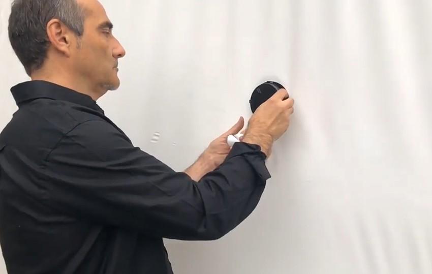Pose du clip ventilation Réf. 42647 pour hivernage