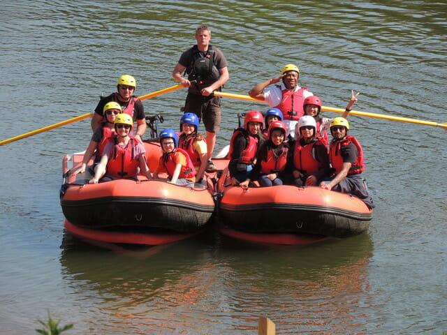 Spring mini raft trip
