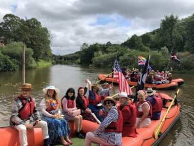 Jackfield regatta raft tours