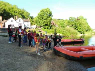 School Children River Trips