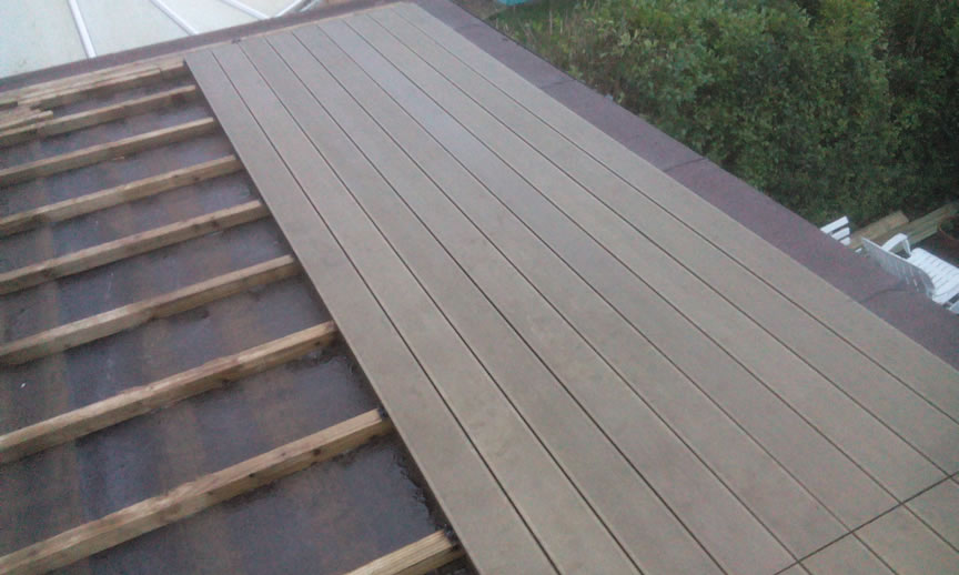 Balcony Decking Installation Stages