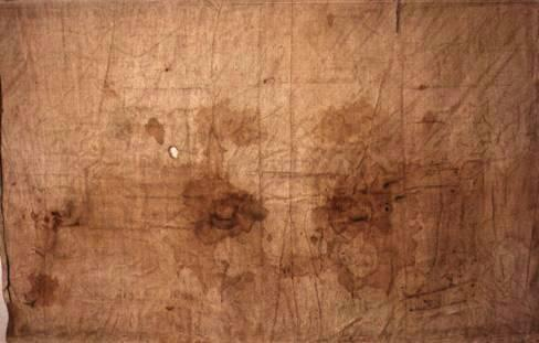 The Sudarium of Oviedo - contains same blood type, AB, as that of the Shroud of Turin