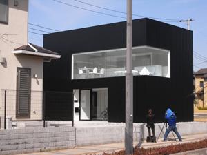 建築写真家による印旛のスタジオの竣工写真撮影を行いました