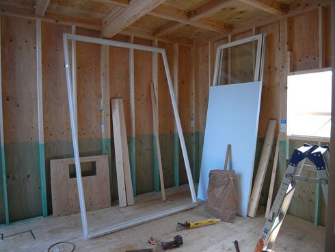 防蟻処理が施された構造用合板