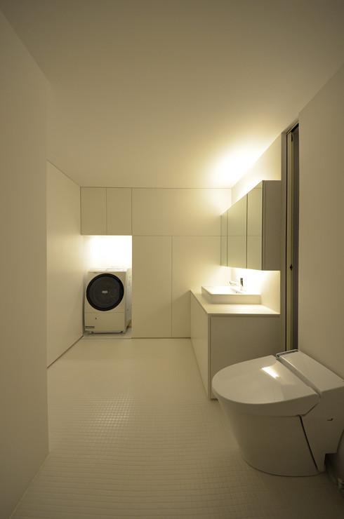 バスルームの夜景