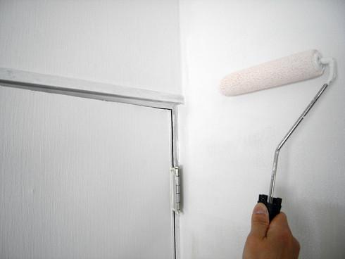 DIYによる壁塗装