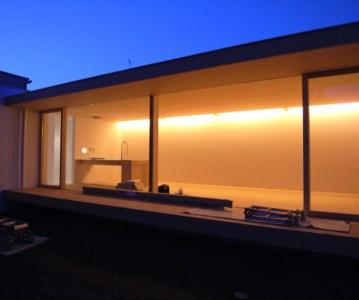 クリーニングと仕上げ塗装、照明器具の照度確認 | ゆめみ野の家