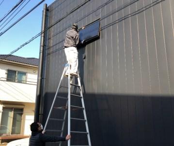 換気窓のメンテナンスと壁や建具の塗装工事 | 印旛のスタジオ