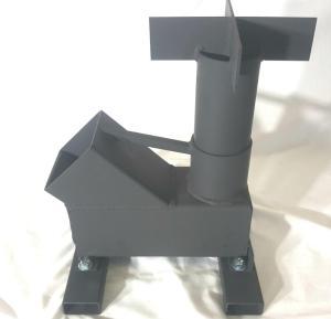 Bullet Proof Rocket Stove 308 Side