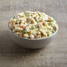 Creamy Pasta with Chicken Camping Food