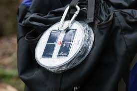 Inflatable Collapsible LED Solar Lantern Light