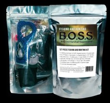 Fishing and hunting B.O.S.S Bug Out Survival Supplement