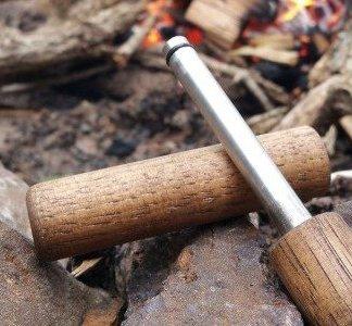 Hickory Wood Fire Piston