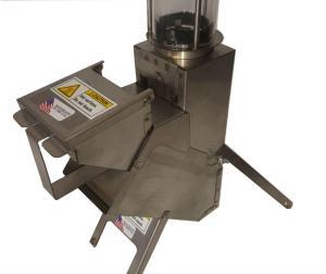 22LR Back Pack Rocket Stove Pellet Hopper installed in rocket stove