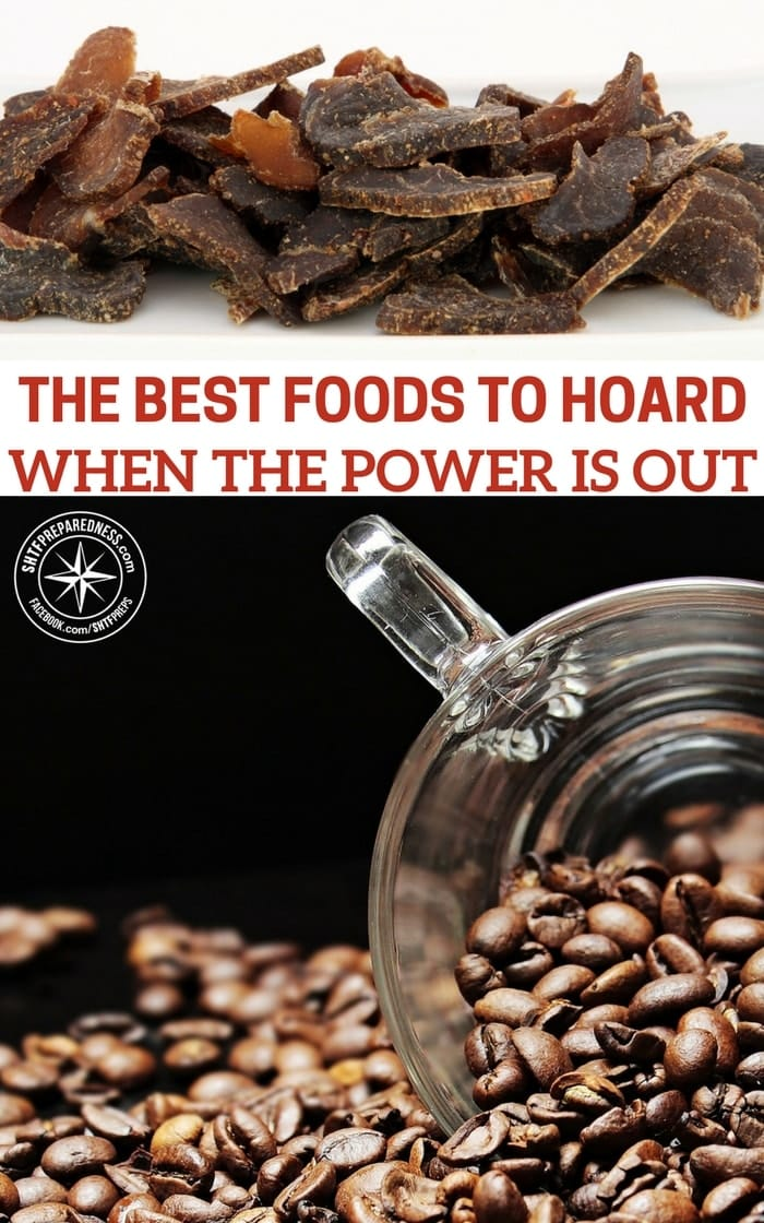 The Best Foods To Hoard When The Power Is Out