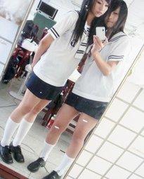 台灣高中女生