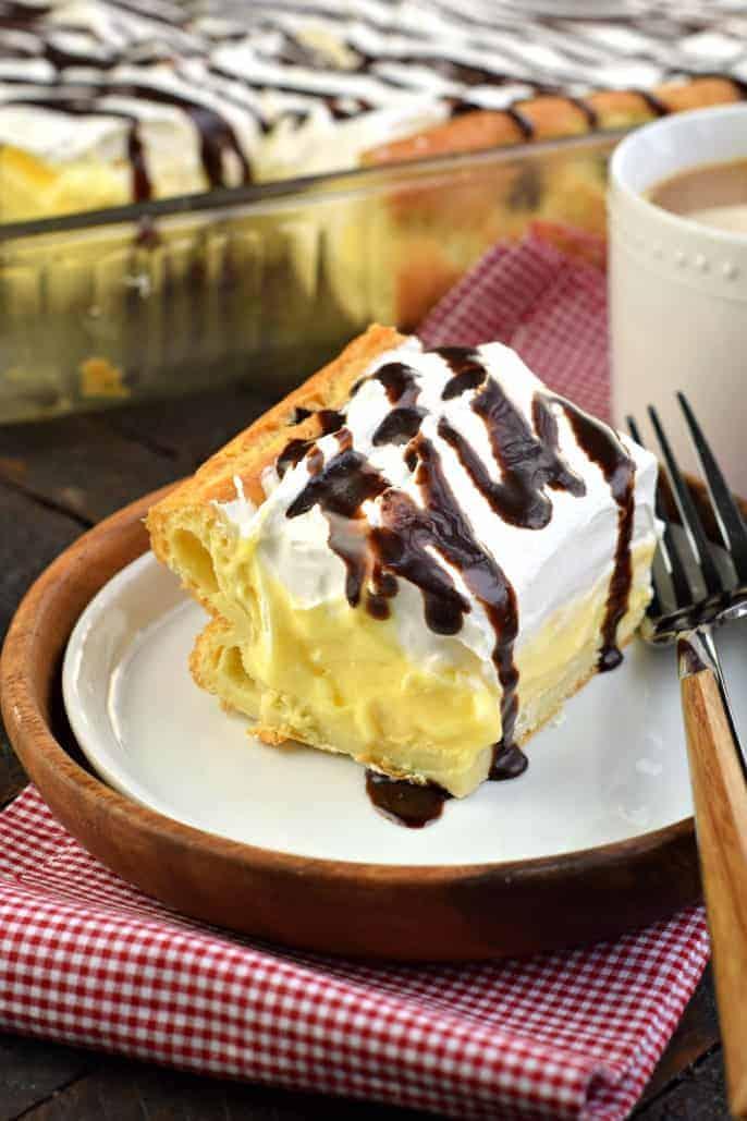 The Best Cream Puff Cake Recipe