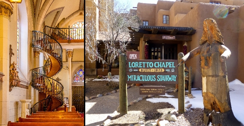 Shulmansays Com » The Mystery Of Santa Fe S Loretto Chapel   The Staircase Of Loretto Chapel   Spiral   Explained   Ancient   Free Standing   Sparrow